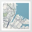 Boston Map by ishyla