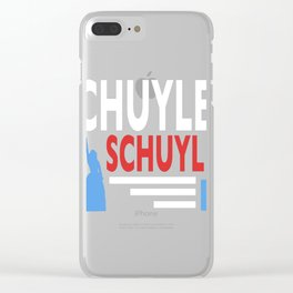 Vote Schuyler 2016 Clear iPhone Case