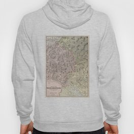 Vintage Map of The White Mountains (1901) Hoody