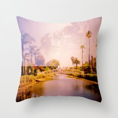 Venice II Throw Pillow