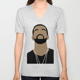 Drake Cartoon2 Unisex V-Neck
