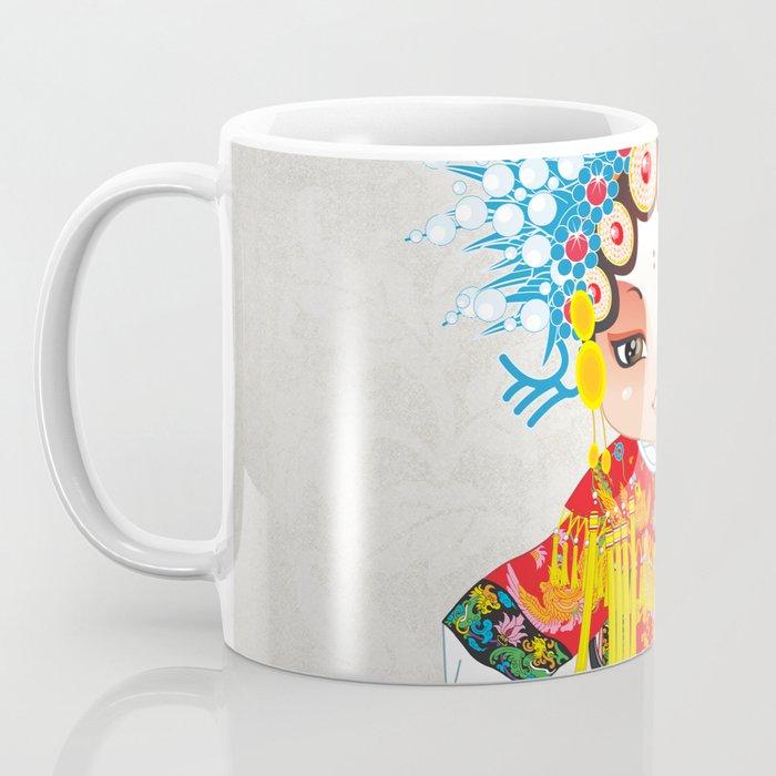 Beijing Opera Character SunShangXiang Coffee Mug