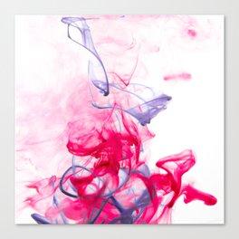 Blue Threads Canvas Print