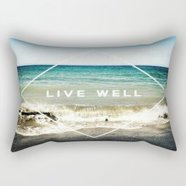 Live Well Rectangular Pillow