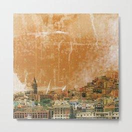 Istanbul city Metal Print