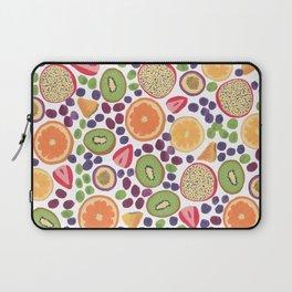 Gouache Fruit Pattern Laptop Sleeve