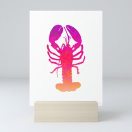 Abstract Lobster Mini Art Print
