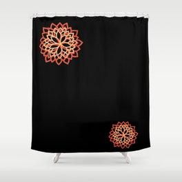 Delphine • Yoga pant 3 • Shower Curtain