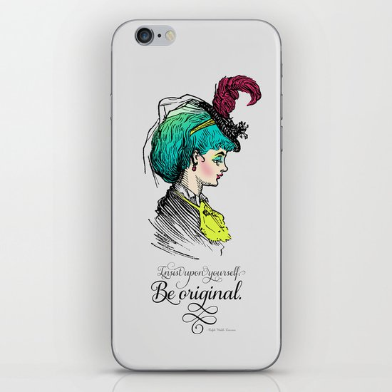 Be original. iPhone & iPod Skin