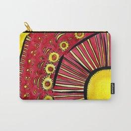 Sunflower Summer Carry-All Pouch