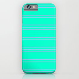 Simple Lines Pattern tp iPhone Case