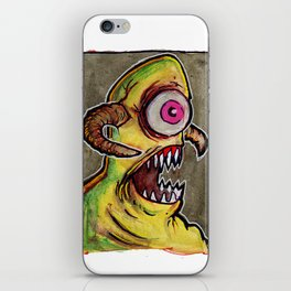 One Eyed Monster iPhone Skin