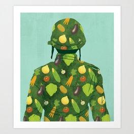 Organic Soldier Art Print