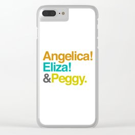 And Peggy Clear iPhone Case