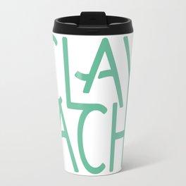The Clay Cache Icon Travel Mug