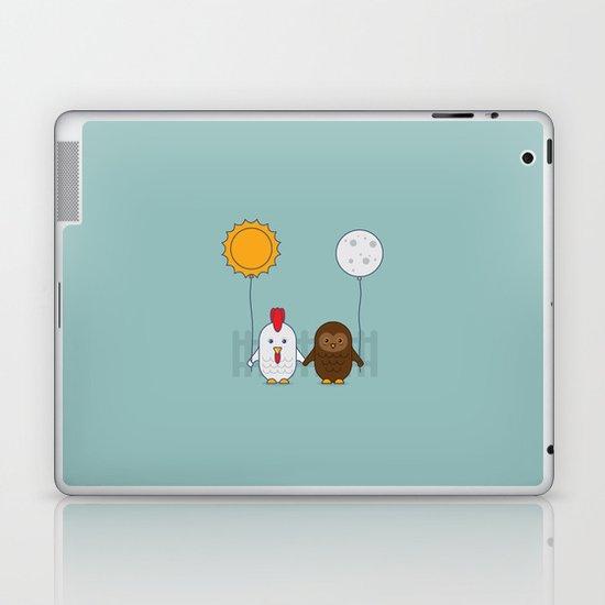 Early Bird & Night Owl Laptop & iPad Skin
