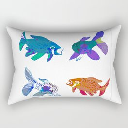 Koi Mash Up Rectangular Pillow