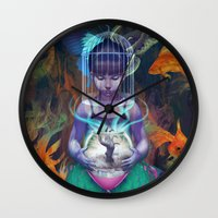 artgerm Wall Clocks featuring Vision by Artgerm™