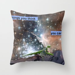 Do the Things You Think You Cannot Do Throw Pillow