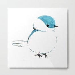little plump birdie Metal Print