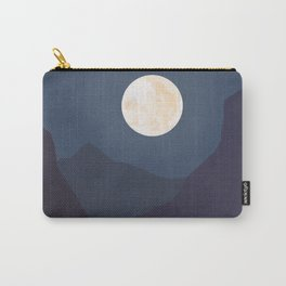 The Mountains At Night Carry-All Pouch