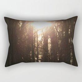 gazing sun Rectangular Pillow