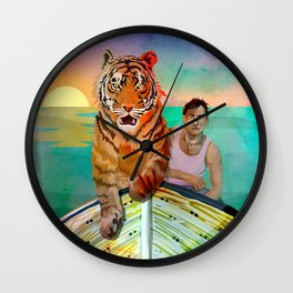 Richard Parker and Pi Wall Clock