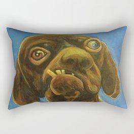 Dogface Rectangular Pillow