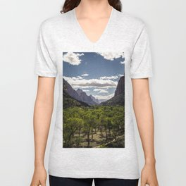 Lush Valley Unisex V-Neck