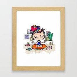 Buddles - Relax Framed Art Print