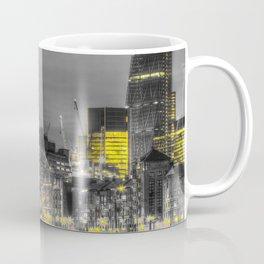 London in Monochrome and Yellow Coffee Mug