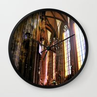 vienna Wall Clocks featuring Only Vienna by Stokes Whitaker