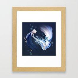 Fire Emblem Fates Kamui & Aqua Framed Art Print