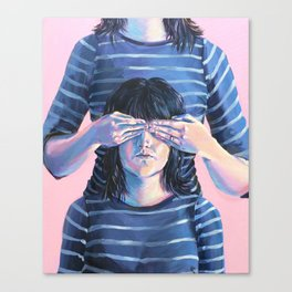 Not Seeing Double Canvas Print
