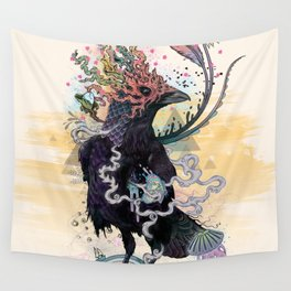 You are Free to Fly Wall Tapestry