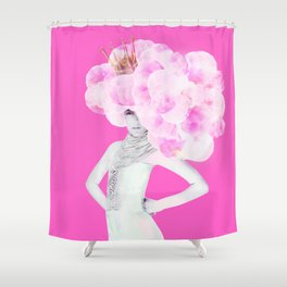 Cotton Candy Queen Shower Curtain