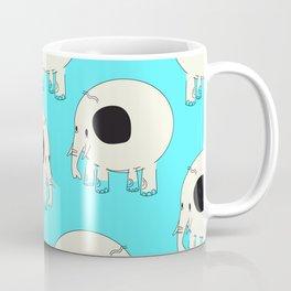 Vintage Elephant pattern Coffee Mug