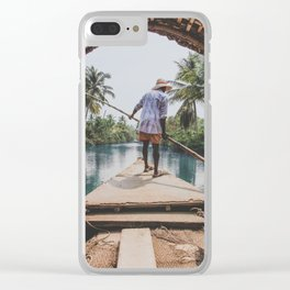 Rivers of India Clear iPhone Case