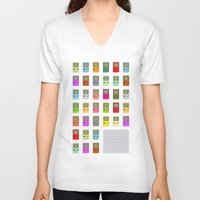gaming V-neck T-shirts featuring Don't Stop Gaming by Alexander Pohl