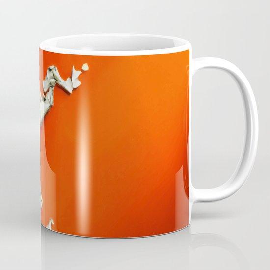 Orange Paper Peel Mug