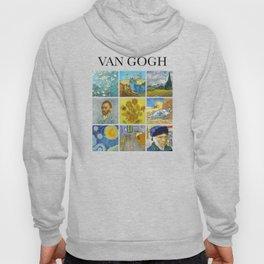 Van Gogh - Collage Hoody