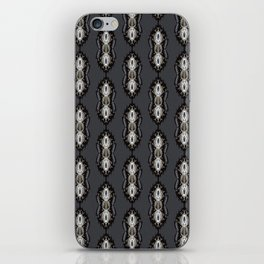 Trendy Ornamental Arabesque Flourish iPhone Skin