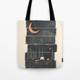 Wish I Was Camping... Tote Bag