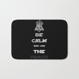 Be Calm and Use The Force Bath Mat