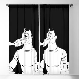 Feel the Music with Stevie Wonder Blackout Curtain