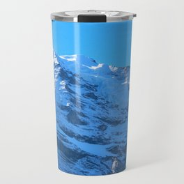 Ascending to New Heights – Snow-Capped Alps Travel Mug