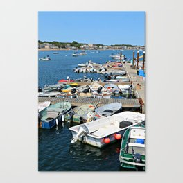 Provincetown Runabouts Canvas Print