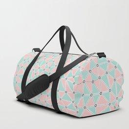 Seg African Blush Mint Duffle Bag