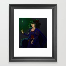 Lyra Framed Art Print