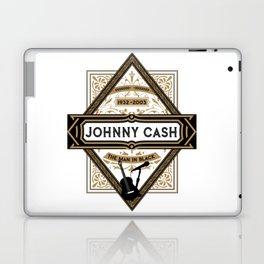 Johnny Class Vintage Man in Black 1932 - 2003 Laptop & iPad Skin